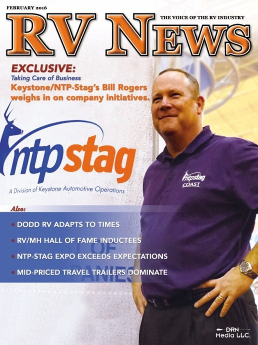 RV News Magazine February 2016 Front Cover