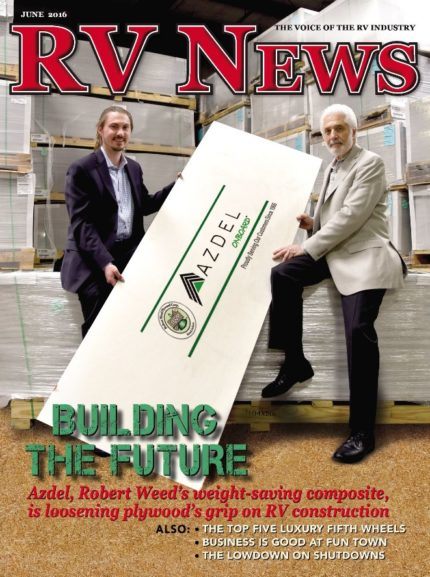RV News Magazine June 2016 Front Cover