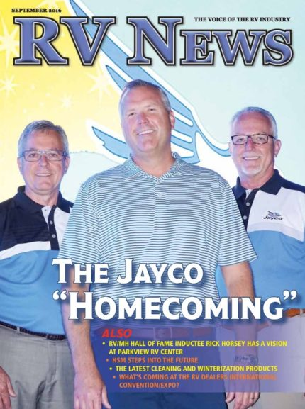 RV News Magazine September 2016 Front Cover