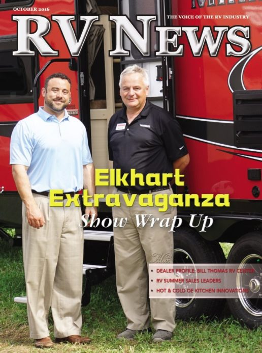 RV News Magazine October 2016 Front Cover