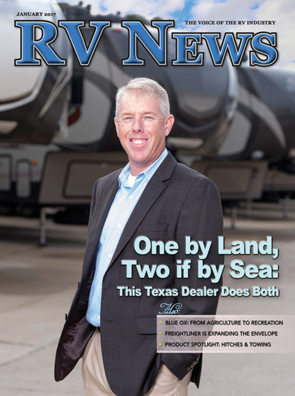 RV News Magazine January 2017 Front Cover