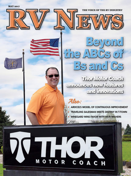 RV News Magazine May 2017 Front Cover