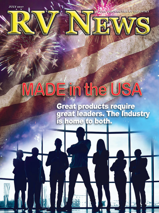 RV News Magazine July 2017 Front Cover