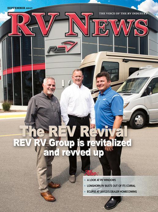 RV News Magazine September 2017 Front Cover