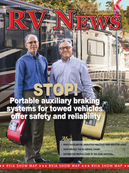 RV News Magazine November 2017 Front Cover