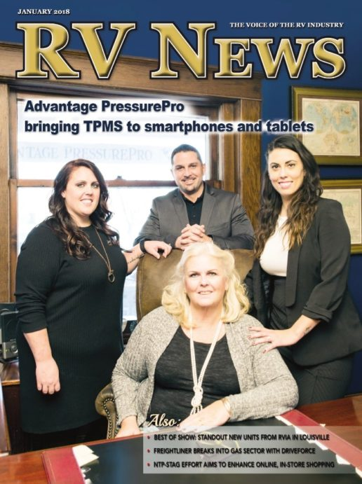 RV News Magazine January 2018 Front Cover