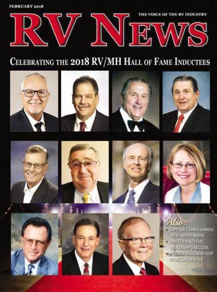 RV News Magazine February 2018 Front Cover