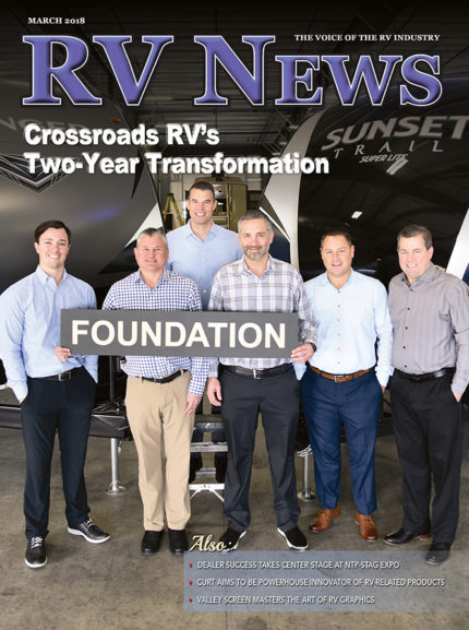 RV News Magazine March 2018 Front Cover