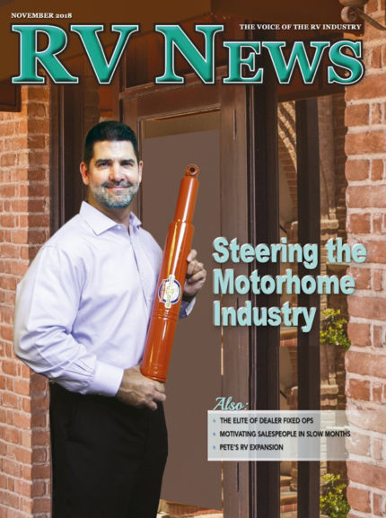 RV News Magazine November 2018 Front Cover