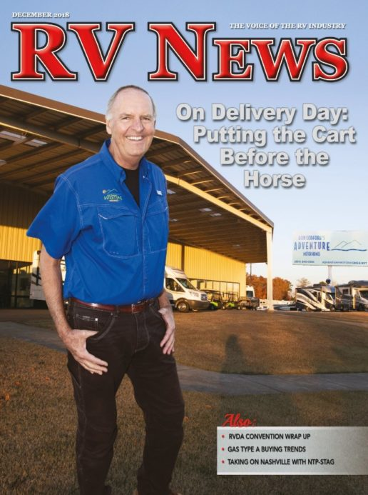 RV News Magazine December 2018 Front Cover