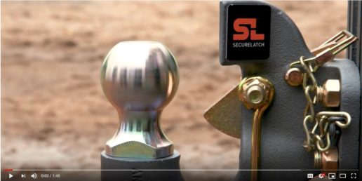CURT Group's new SecureLatch pintle hitches video