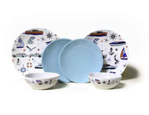 Camp Casual's New for 2020 Marine 6 piece dish set photo