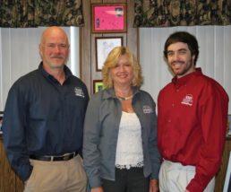 Photo of Mike Keller, Lori Keller Morrow and Michael T. Keller of Keller Marine & RV.