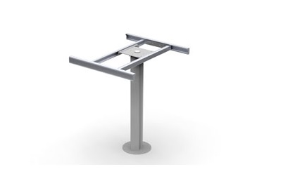 a picture of LCI Italy's new Planet rotating RV table