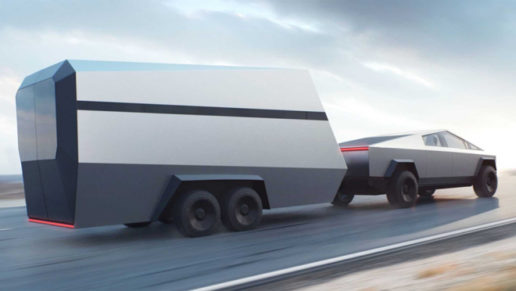 Photo of Tesla Cyber truck
