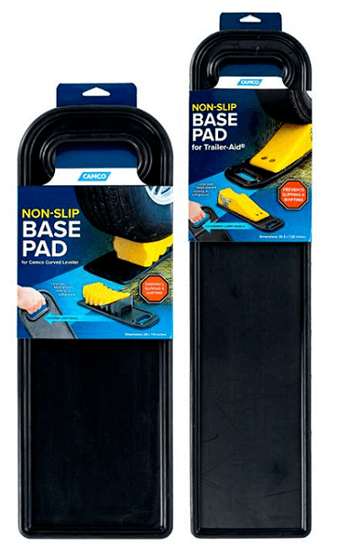 A picture of two of Camco Manufacturing's Non Slip Base Pads