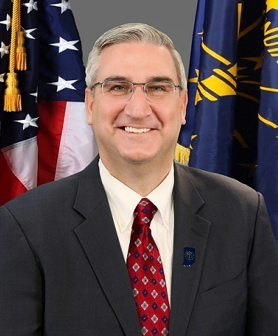 Indiana Governor Holcomb