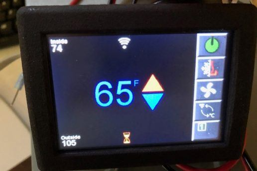 Micro-Air EasyTouch RV smart thermostat