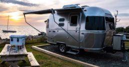 Airstream Caravel travel trailer
