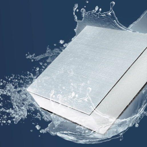 Keystone RV's Hyperdeck water-resistant flooring