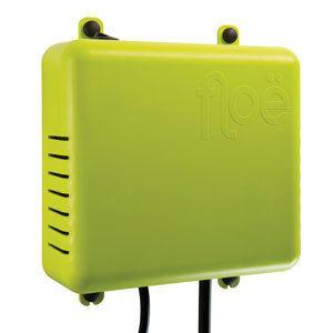 A picture of a green rectangular box, the Lippert Floe