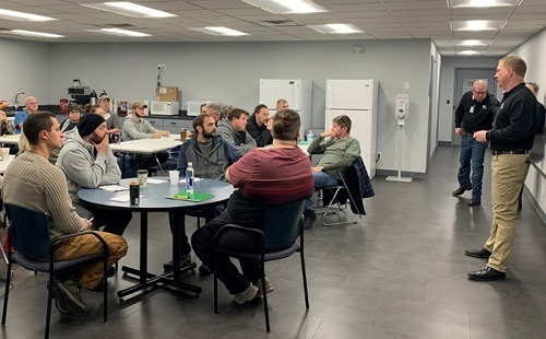 Class at the V Technical Institute in Elkhart, Indiana
