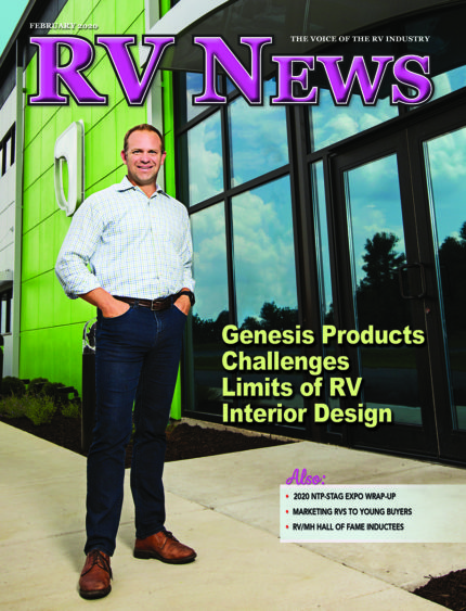 RV News Magazine February 2020 front cover