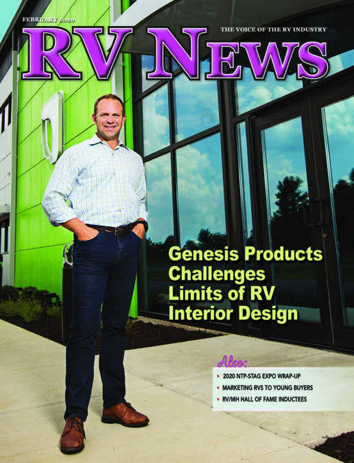 RV News Magazine February 2020 front cover