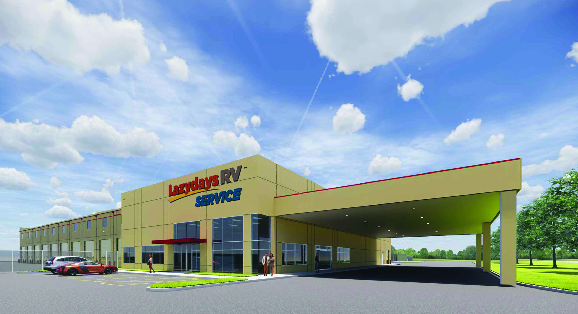 Exclusive Lazydays RV Opens Standalone Service Center in Houston ...