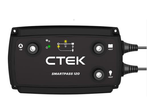 Photo of CTEK Smartpass 120S RV battery charging solution