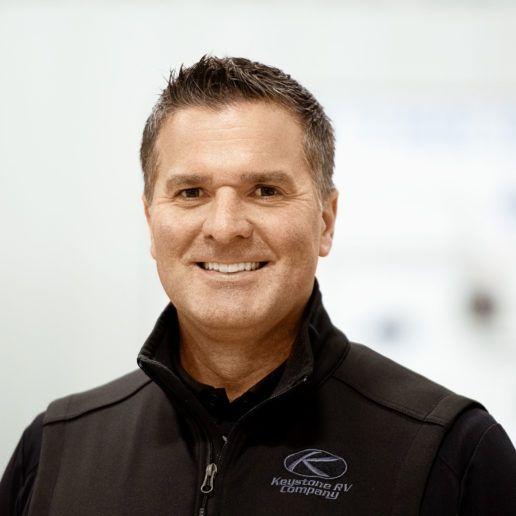 Photo of Dustin Tavernier Keystone RV Product Manager