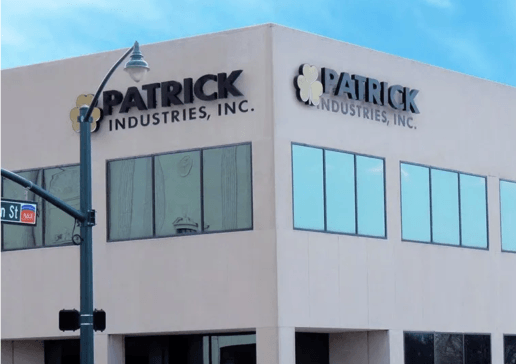Photo of Patrick Industries building