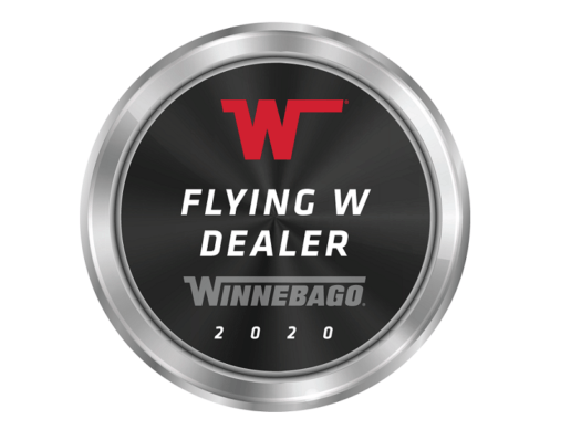 Image of Winnebago Flying W Dealer Award