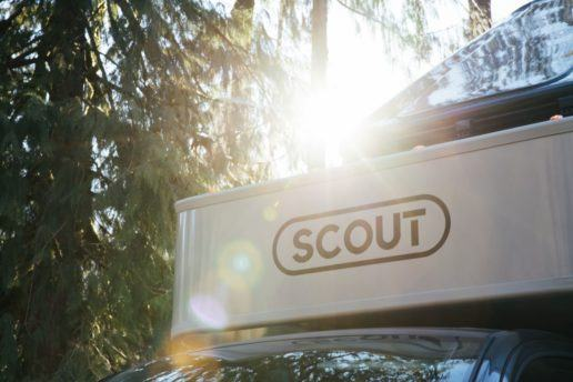 A photo of the new Scout brand of Adventurer truck campers