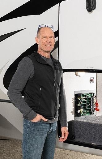 Keystone RV Senior Vice President of Engineering Mark Bullock