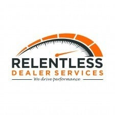 a picture of the logo for Relentless Dealer Services