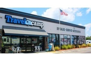 A photograph of the outside of the Travelcamp of Jacksonville dealership