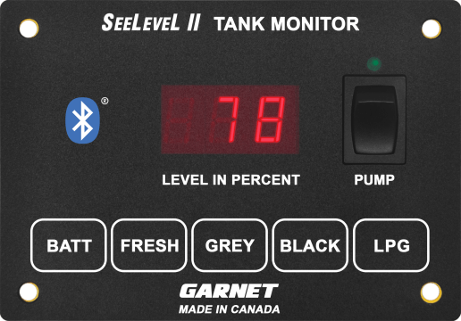 An image of a new tank monitor from Garnet Instruments