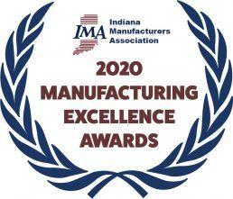 An image of the Indiana Manufacturers Association 2020 Awards logo