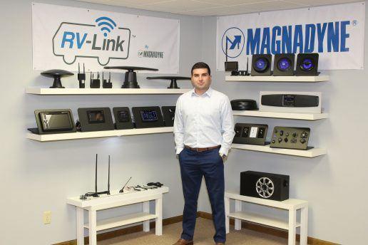 A photo of Magnadyne National Sales Manager Kamden Betzer