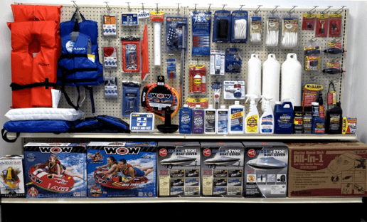 A photo of a model marine product display created by NTP-Stag