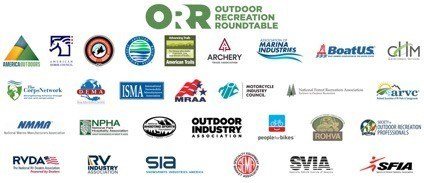 A logo for Outdoor Recreation Roundtable