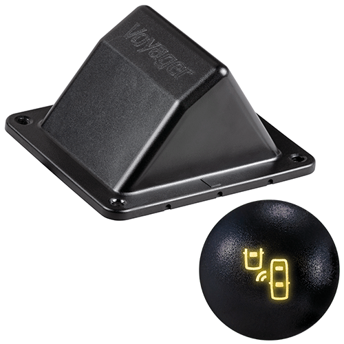 An image of ASA Electronics new blind spot motorhome product