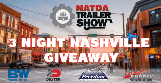 A promotional image for the NATDA giveaway