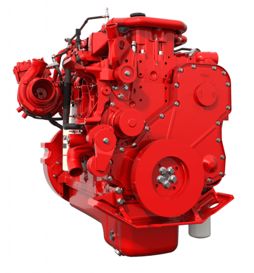An image of the Cummins 2021 EPA L9 engine