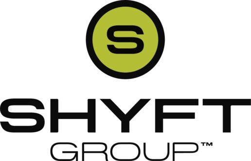 A logo for the Shyft Group