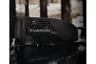 A picture of the Furrion Chill, a rooftop air conditioning system for RVs