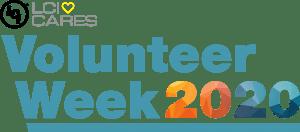 A logo for LCI Volunteer Week 2020