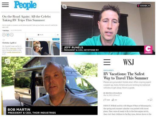 RVs in news media