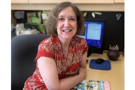 A photo of Mary Anne Shreve, editor at RVDA